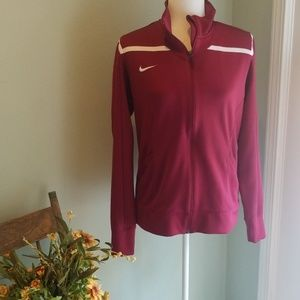 Excellent condition womens zip Nike jacket.